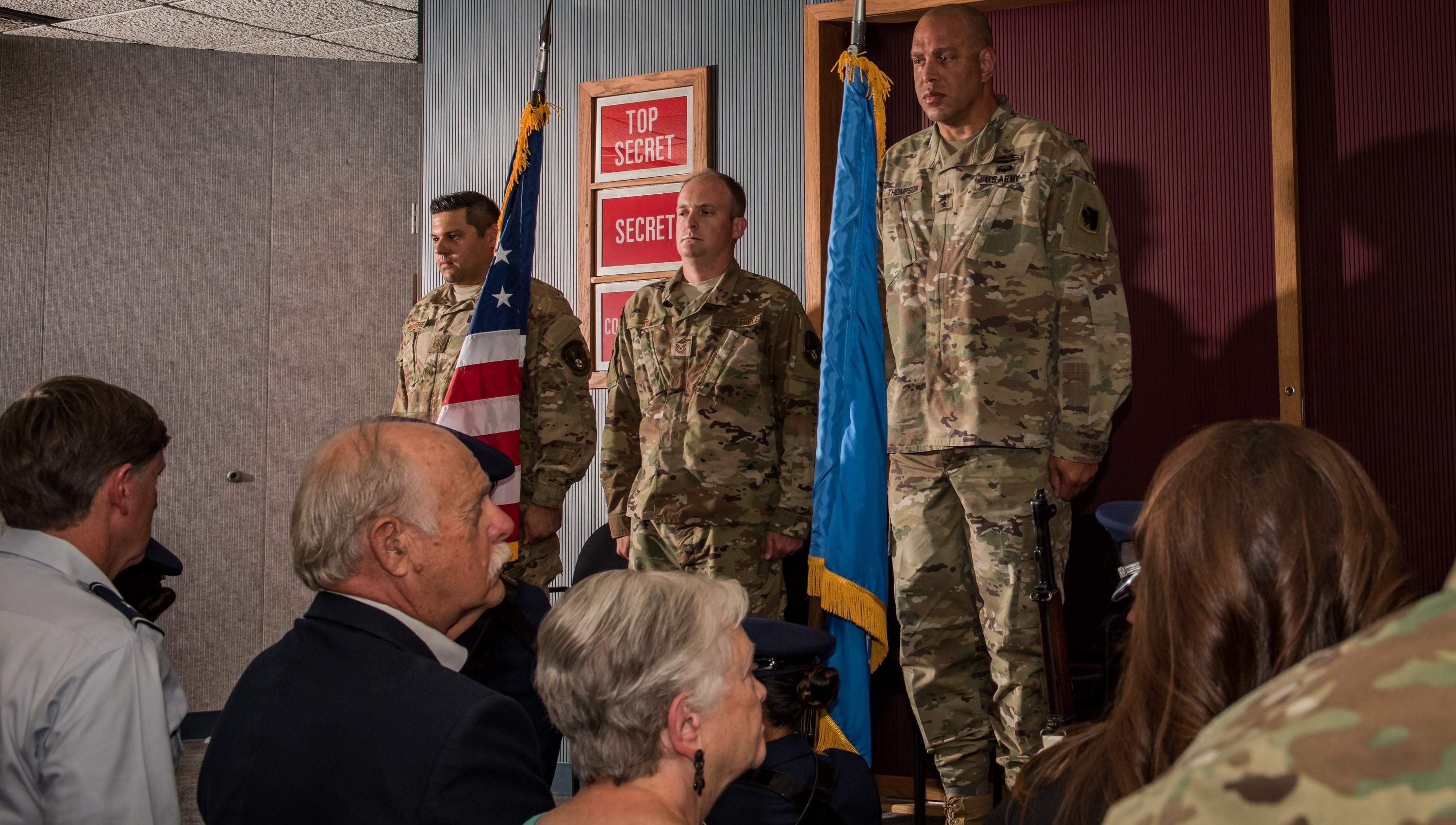 137th SOW Airmen receive Oklahoma Star of Valor after rescue
