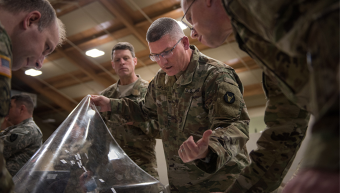 Members from the 146th ASOS join Minnesota National Guard unit in readiness exercise